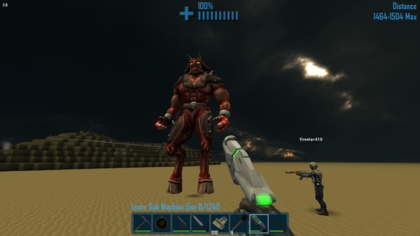 monstruo de videojuego parecido a minecraft